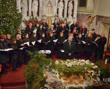Božični koncert MPZ Svoboda iz Mengša