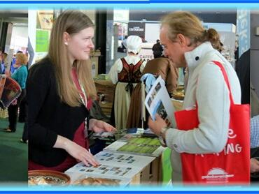 Sejem turizma NATOUR ALPE-ADRIA na Gospodarskem razstavišču v Ljubljani