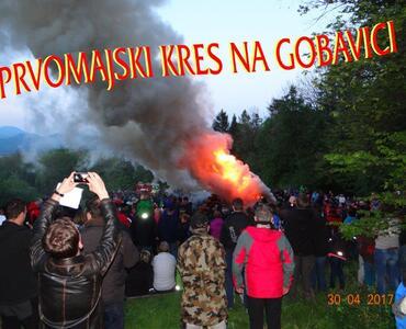 PRVOMAJSKI KRES NA GOBAVICI, 30. 4.2017