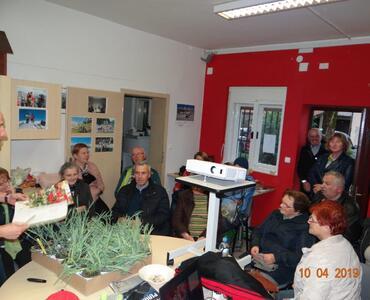 Turistično društvo Mengeš, med rožami in kulinariko
