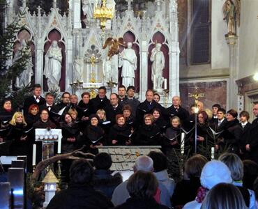 Božični koncert MePZ Svoboda Mengeš