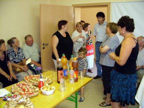Prisrčen sprejem v prostorih TD Cekar